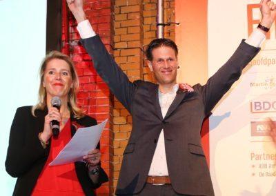 hop2016 winnaar erwin miedema en juryvoorzitter margot span